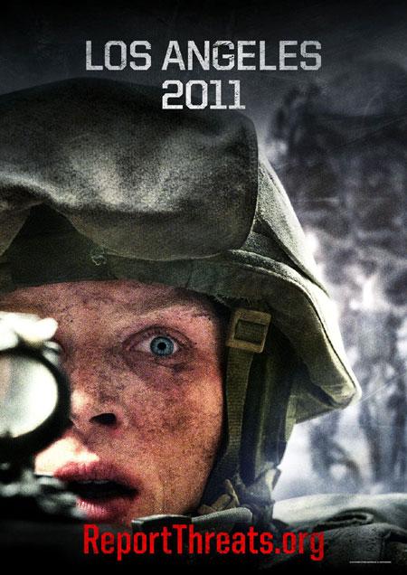 Battle: Los Angeles, movie, poster