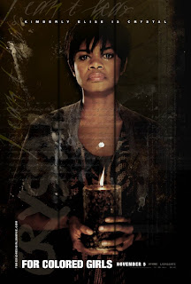 For Colored Girls, movie, Character, Poster