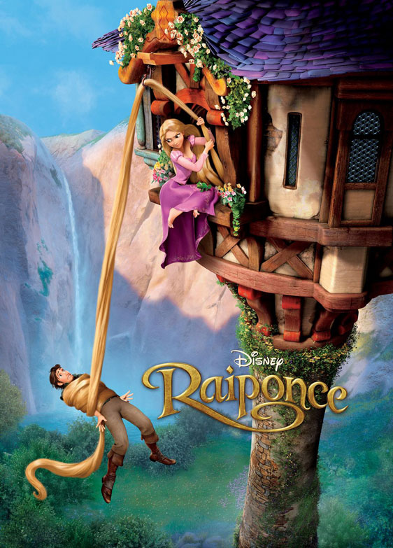 Tangled, movie, poster