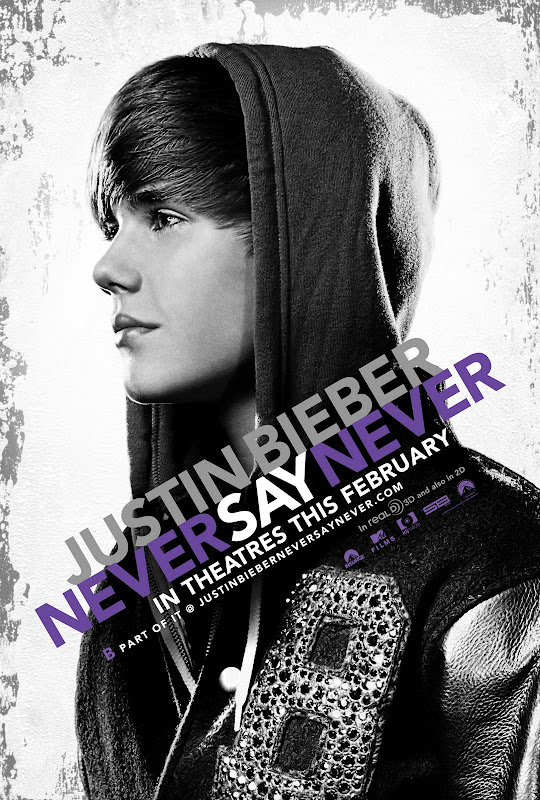 Justin Bieber, Never Say Never, movie, poster