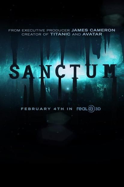 movie, poster, Sanctum