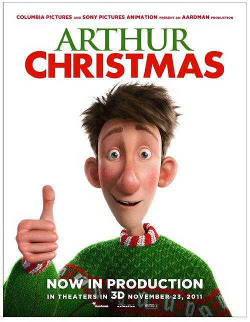 Arthur Christmas, movie, poster