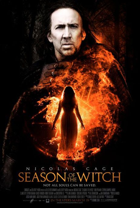 Season of the Witch, new, movie, poster,Nicolas Cage
