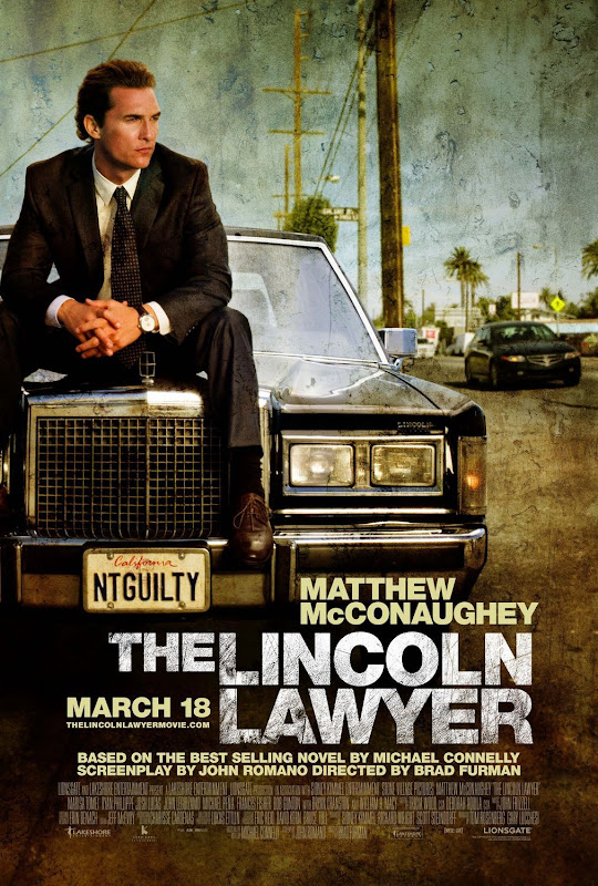The Lincoln Lawyer, movie, poste