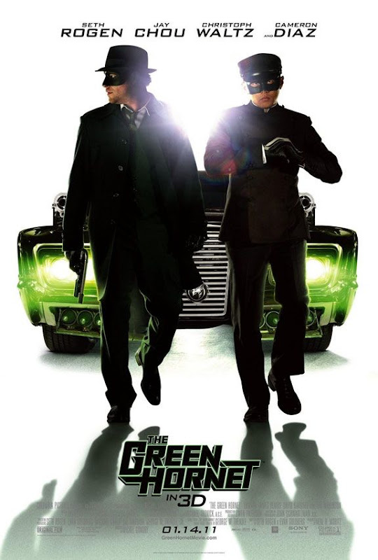 The Green Hornet, movie, poster
