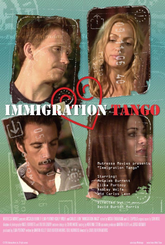 Immigration Tango, movie, poster