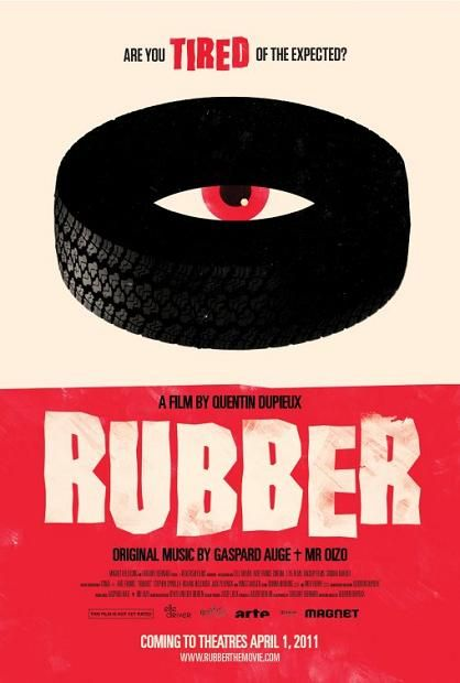 Rubber, 2011, movie, poster