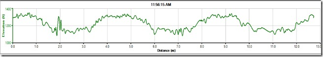 WTH Half Marathon Elevation