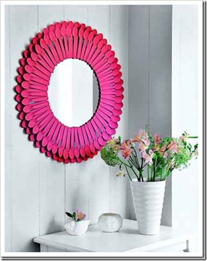 műanyag kanálka tükörkeret