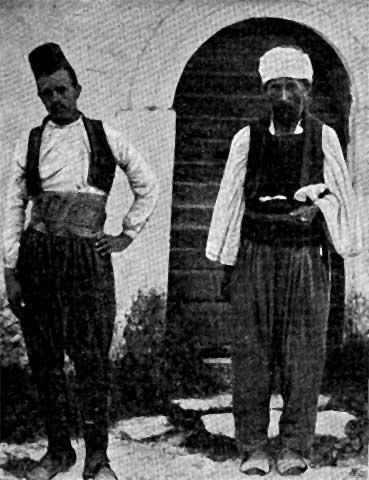 Muhamedanski momak i hodža.