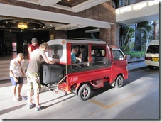 Phuket: via Tuk-Tuk to the ferry terminal
