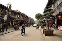 Reconstructed Chinese town