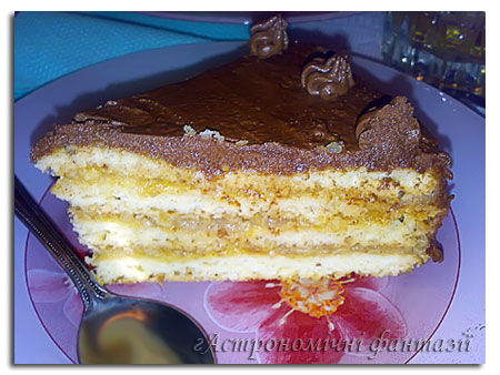 Басусин яблучний торт