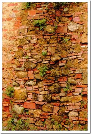 toiano orditura muro