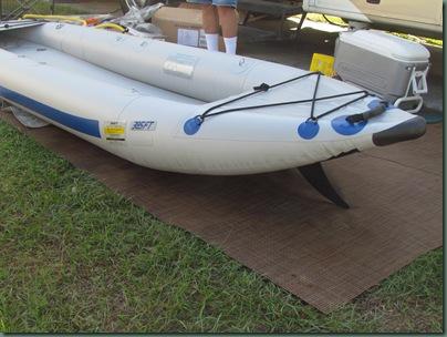 kayak with skeg