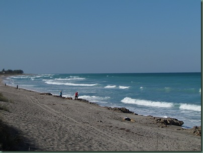 beach at Blowing Rocks, Jupiter Florida