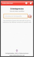 Screenshot of Orientaprecios todocoleccion