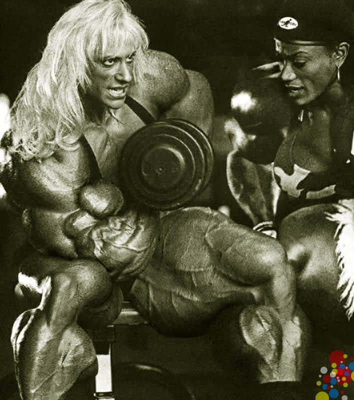 Ms Olympia morphs