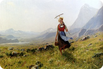 Dahl_Hans_In_The_Mountains