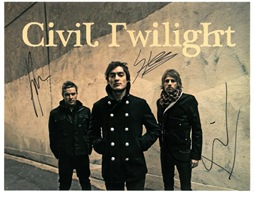 Civil Twilight Autograph