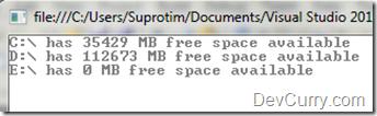 FreeSpace C#