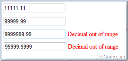 Decimal Regex