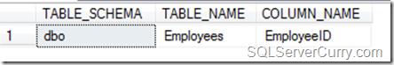 Primary Key SQL Server
