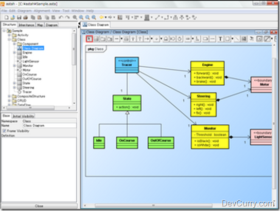 Free open source uml tools student box office Open source diagram tool