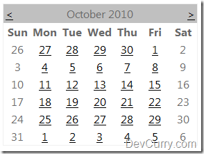 Disable Weekends in ASP.NET Calendar Control