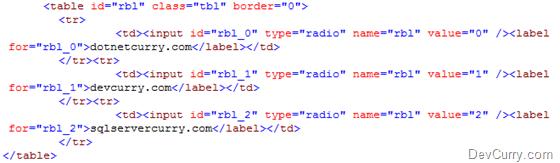 asp.net radiobutton