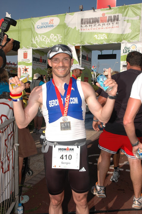 I am Finisher in Lanzarote 2010