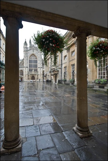 view of bath abbey