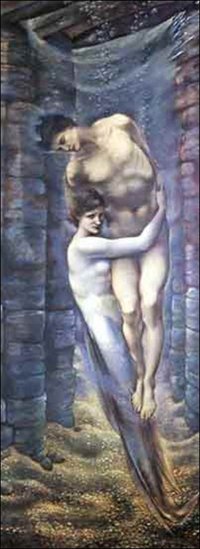 The Depths of the Sea - Edward Burne-Jones 1887