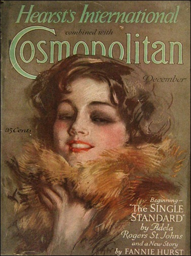 1927 Cosmopolitan Magazine Cover Harrison Fisher