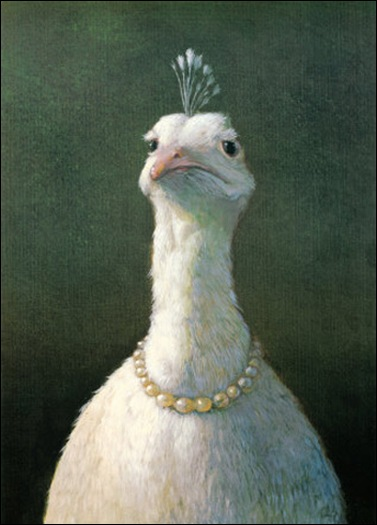 michael-sowa-fowl-with-pearls