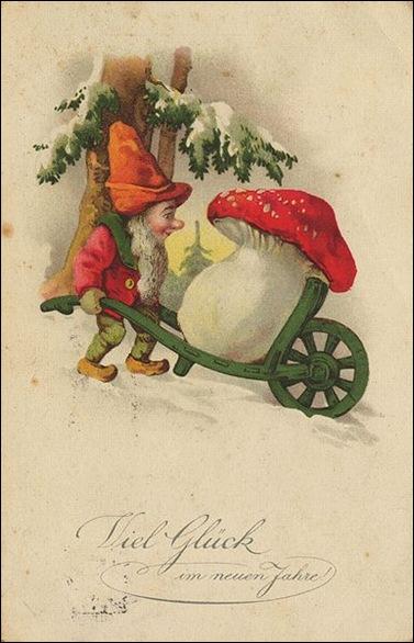 Zwerg_Postkarte