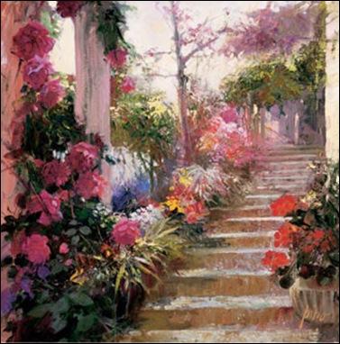 A Very Fairy Garden Rose Garden