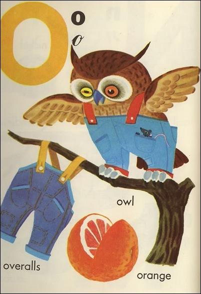 o of owl