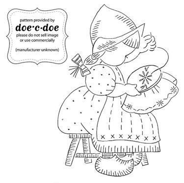 dutch girl stitching