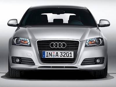 Audi A3 2009 Front View