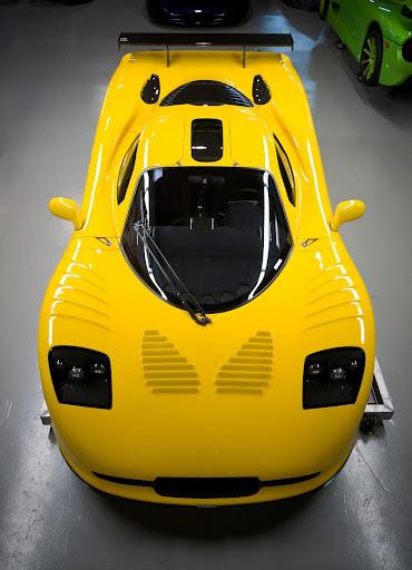 Mosler MT900 GTR XX Top-Front View
