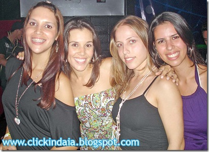 Kelly, Gisele, Giuliana e Talita (Crédito da foto: Fábio Alexandre)