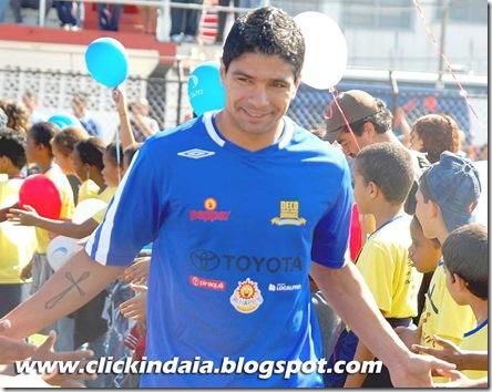 Renato, do Sevilla, na partida de sábado (Crédito: Fábio Alexandre)