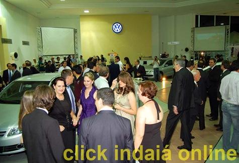 Os convidados lotaram a Nova Ivesa (Crédito: Fábio Alexandre)