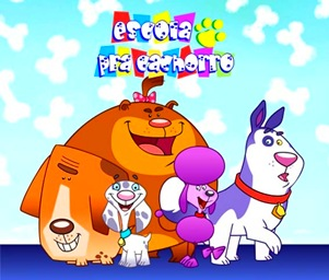 Escola pra Cachorro, animação produzida por Eric e companhia (Crédito: Reprodução)