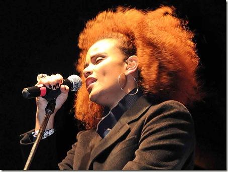 Luciana Mello durante o show (Crédito: Eliandro Figueira/ACS-PMI)