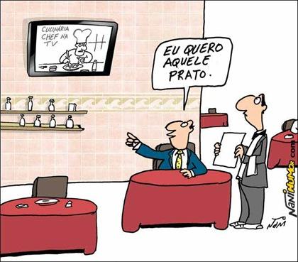 A inegável influência da TV by Nani Humor