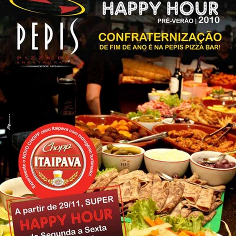 Happy Hour na Pepi's Pizza Bar