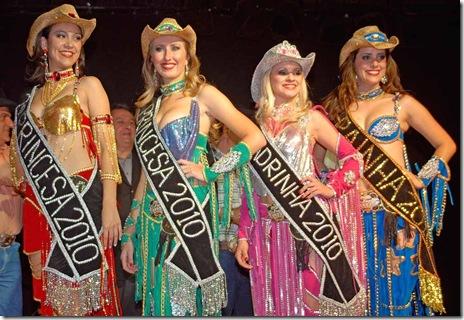 Vencedoras do concurso em 2010 (Crédito: Fábio Alexandre)