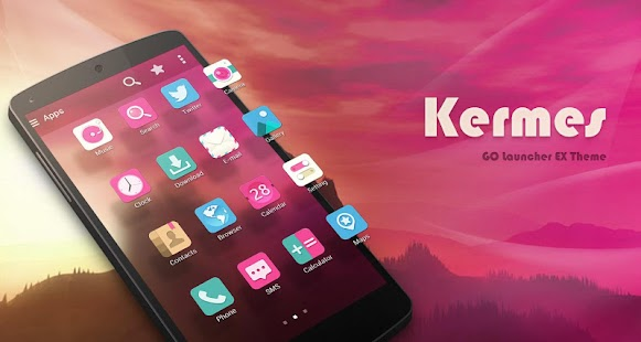 Kermes GO Launcher Theme - screenshot